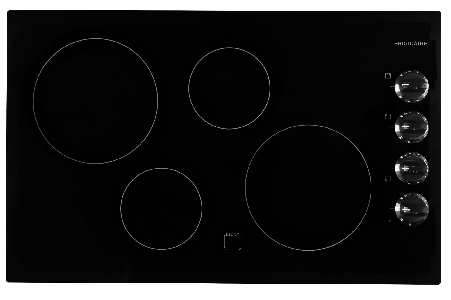 Sears Cooktops Electric ~ Frigidaire ffec mb quot electric cooktop black