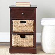 Safavieh American Home Carrie Side Table Dark Cherry at Kmart.com