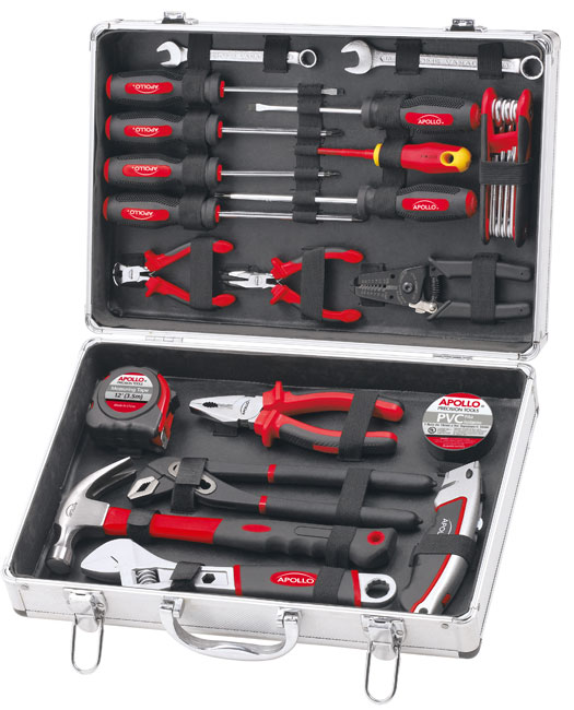 28-PIECE-GIFT-TOOL-KIT-IN-ALUMINUM-TOOL-CASE