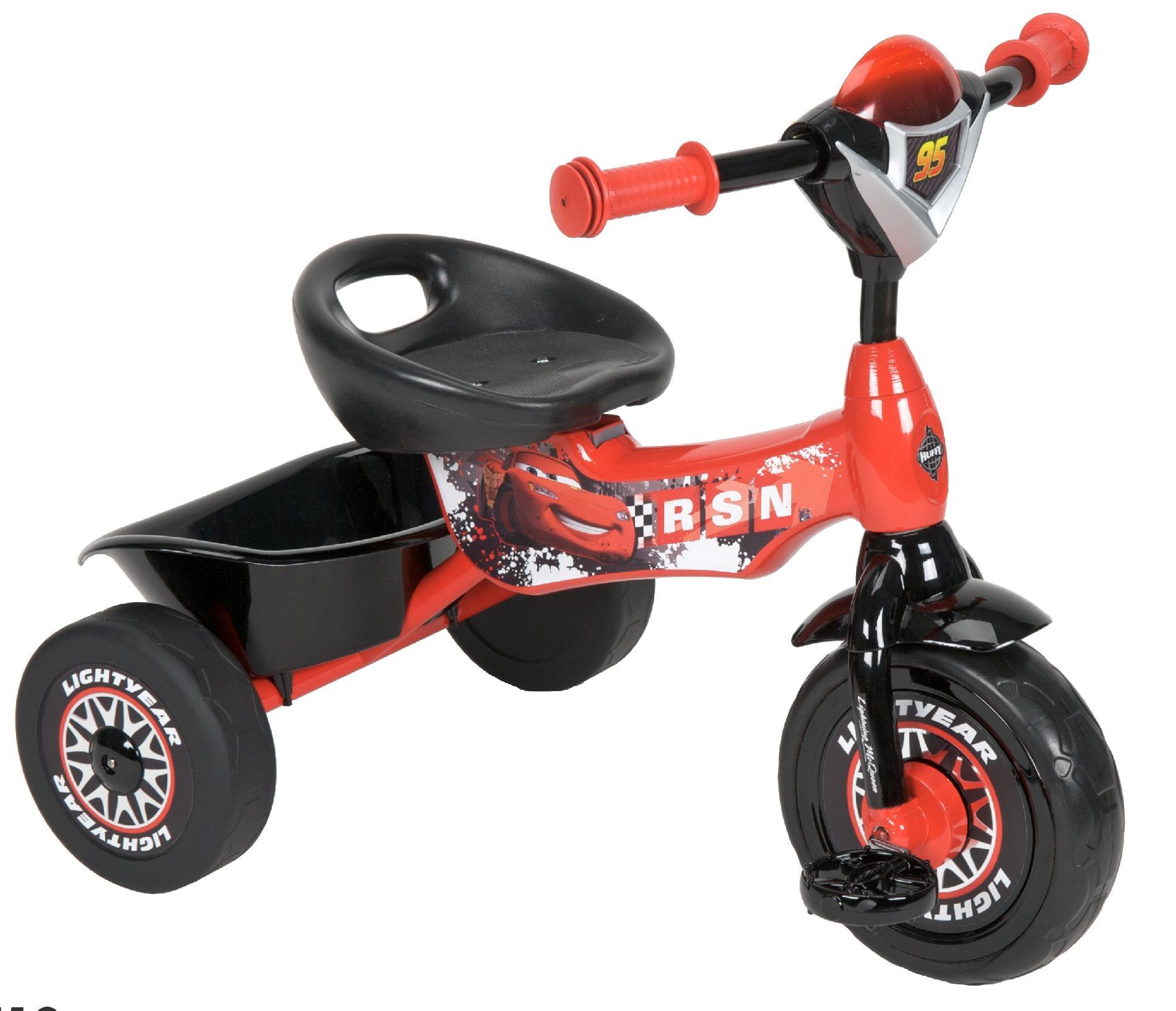Disney Pixar Cars Tricycle Enjoy A Fun And Zippy Ride
