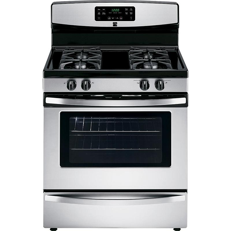 Kenmore 74033 5.0 cu. ft. Freestanding Gas Range - Stainless Steel