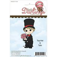Cutie Pies Unmounted Rubber Stamp Top Hats & Tails at Kmart.com