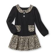 WonderKids Infant & Toddler Girl's Dress - Leopard Print at Kmart.com