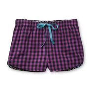 Joe Boxer Women's Printed Woven Lounge Shorts - Checkered at Kmart.com