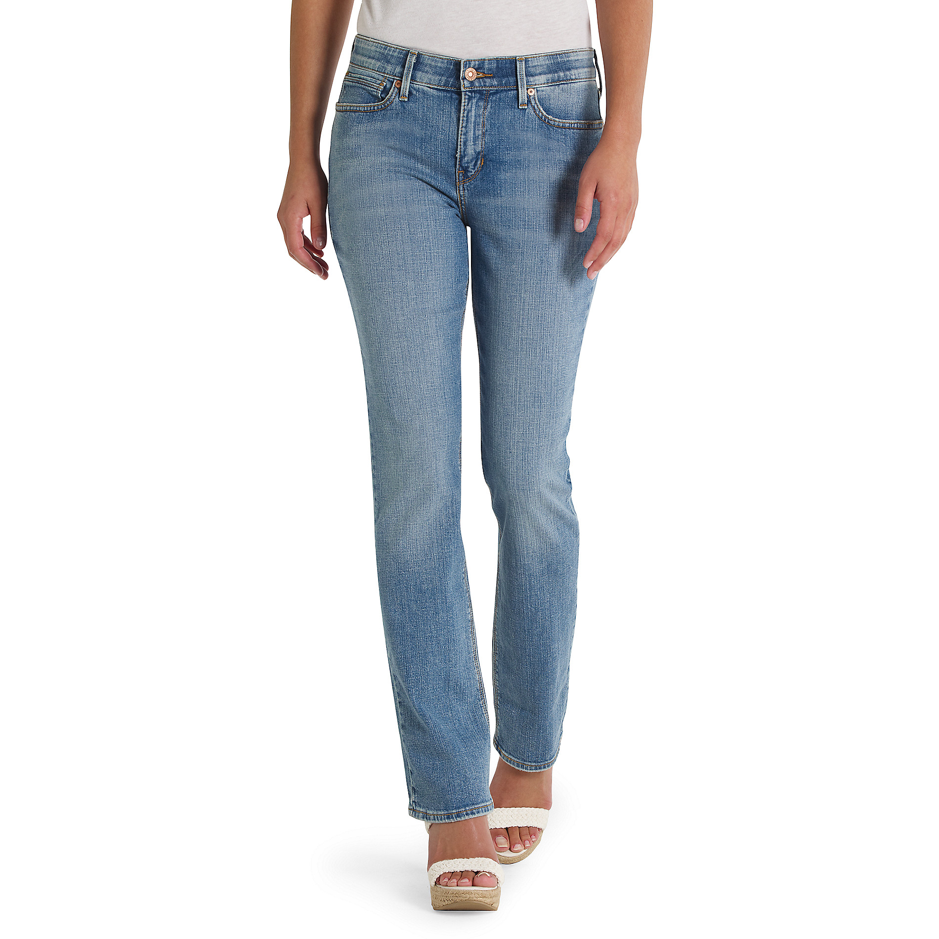 Levi's® 525™ Perfect Waist Straight Fit Denim Jeans For Women