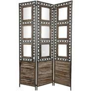 Oriental Furniture 6 ft. Tall Square Pane Shutter Room Divider at Kmart.com