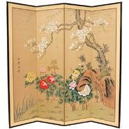 Oriental Furniture Harmony in Nature Room Divider - (72 in. x 72 in.) at Kmart.com