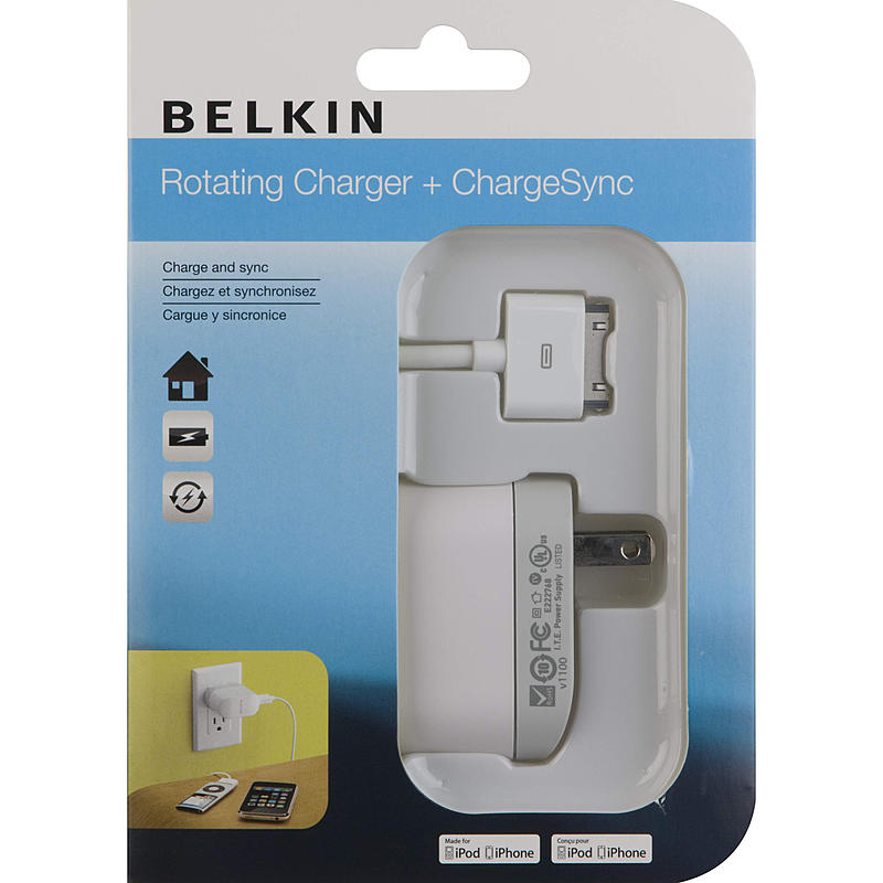 Belkin Swivel Wall Charger for iPhone & iPod