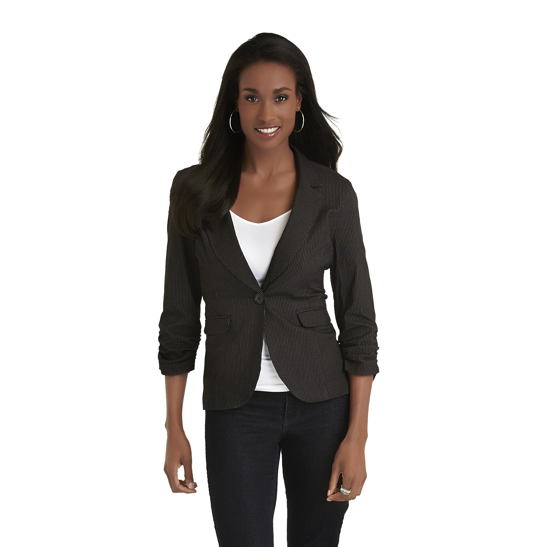 Metaphor Women's Blazer - Pinstriped at Sears.com