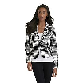 Covington Women's Blazer - Houndstooth at Sears.com