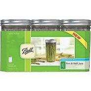 Ball Wide Mouth 24-Ounce Jars with Lids Set of 9 at Kmart.com