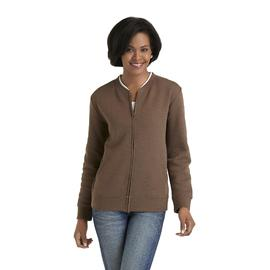 Laura Scott Women's Fleece Zip-Front Jacket at Sears.com