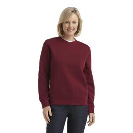 Laura Scott Women's Layered Look Fleece Sweatshirt at Sears.com
