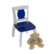 "RiverRidge Kids Kids ""Bow Leg"" Chair - Dark Blue at Kmart.com"