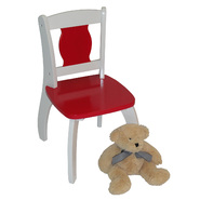 "RiverRidge Kids Kids ""Bow Leg"" Chair - Red at Kmart.com"