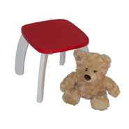 "RiverRidge Kids Kids ""Bow Leg"" Stool - Red at Kmart.com"