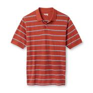 Basic Editions Men's Big & Tall Polo Shirt - Striped at Sears.com
