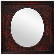 Oriental Furniture Black Calligraphy Mirror at Kmart.com