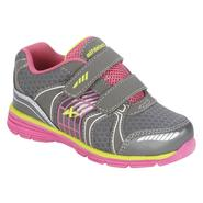 Athletech Toddler Girl's Sneaker L-Willow 2 - Dark Grey Multi at Kmart.com