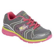Athletech Girl's Sneaker Ath L-Willow 2 - Dark Grey Multi at Kmart.com