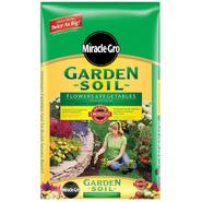 Miracle Grow Garden Soil for Flowers & Vegetables 2cf at Sears.com