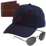 U.S. Polo Assn. Men's Baseball Cap - Logo with Sunglasses & Wallet Bundle at Sears.com