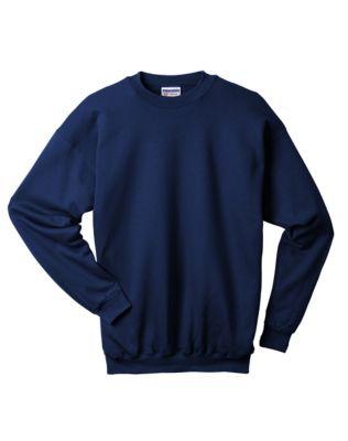 Hanes Ultimate Cotton® Crewneck Adult Sweatshirt PartNumber: 046VA58078812P MfgPartNumber: F260