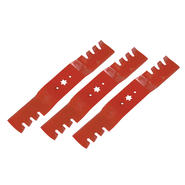 "Craftsman 54"" Advanced Bagging and Mulching Blade (MTD hole pattern) (Set 3) at Craftsman.com"