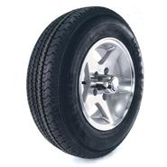 Loadstar Karrier 175/80R-13 LRC Radial Trailer Tire and 5-Hole Aluminum Star Mag Wheel (5x4.5) at Sears.com