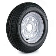 Loadstar 5.30-12 LRC Trailer Tire and 4-Hole Custom Spoke Wheel (4x4) at Sears.com