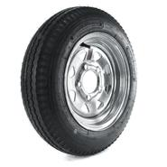 Loadstar 480-12 LRB Trailer Tire and 5-Hole Galvanized Spoke Wheel (5x4.5) at Kmart.com