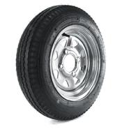 Loadstar 480-12 LRB Trailer Tire and 4-Hole Galvanized Spoke Wheel (4x4) at Sears.com