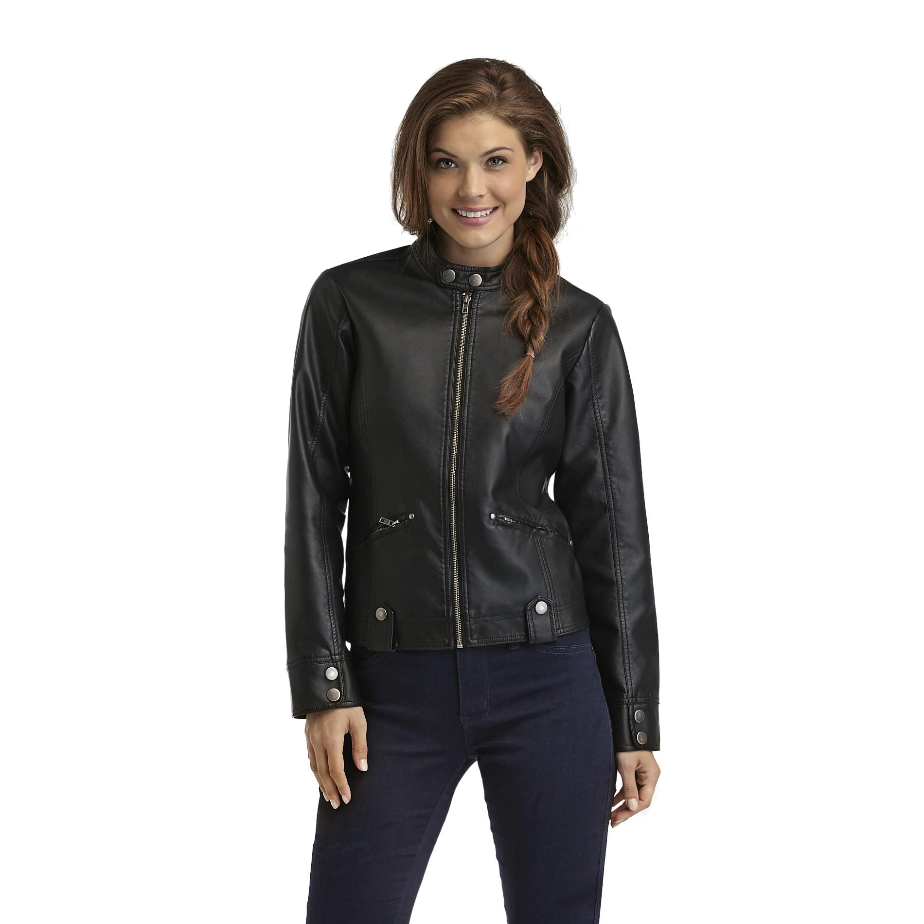 Louise Paris  Women's Faux Leather Jacket