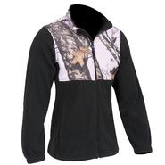 Yukon Ladies Casual Fleece Jacket Mossy Oak Pink - Small at Kmart.com