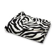 Essential Home Oversized Fleece Throw - Zebra Print at Kmart.com