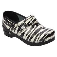 Sanita Work Women's Professional Wild Side Koi Work Shoe- Zebra at Sears.com