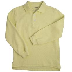 At School by French Toast Unisex 4-20 Long Sleeve Pique Polo Shirt at Kmart.com