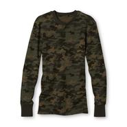 Joe Boxer Men's Big Thermal Henley - Camouflage at Kmart.com
