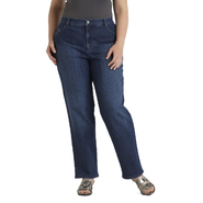Gloria Vanderbilt Women's Plus Embellished Amanda Jeans - Bootcut at Sears.com