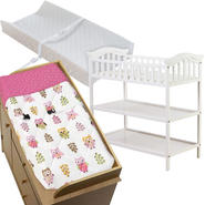 Dream On Me Jessica Changing Table with Changing Pad & Cover Bundle at Kmart.com