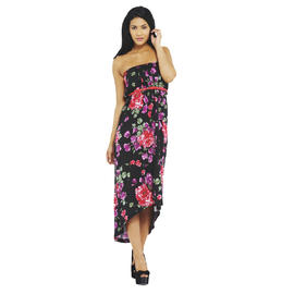 AX Paris Women's Strapless Belted Back Drop Maxi Dress - Online Exclusive at Kmart.com
