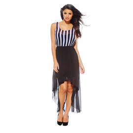 AX Paris Women's Stripe Vest Drop Back Dress - Online Exclusive at Sears.com