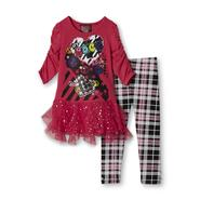 Forever Me Girl's Tunic Top & Leggings - Peace Signs at Sears.com