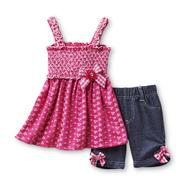WonderKids Infant & Toddler Girl's Tank Dress & Shorts at Kmart.com