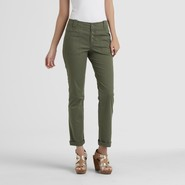 Canyon River Blues Women's Twill Ankle Pants at Sears.com