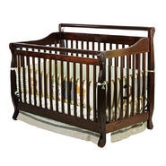 Dream On Me 4-in-1 Liberty Convertible Crib, Espresso at Kmart.com