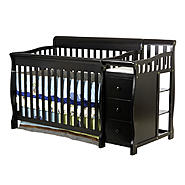 Dream On Me 4 in 1 Brody Convertible Crib with changer, Black at Kmart.com