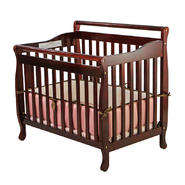 Dream On Me 3-in-1 Portable, Convertible Crib, Cherry at Sears.com