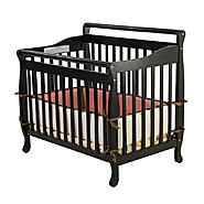 Dream On Me 3-in-1 Portable, Convertible Crib, Black at Sears.com