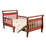 Dream On Me Sleigh Toddler Bed, Cherry at Sears.com
